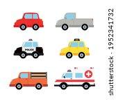police car  police patrol car ... | Shutterstock .eps vector #1952341732