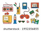 collection of items from the...   Shutterstock .eps vector #1952356855
