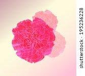 watercolor flower vector  eps 10   Shutterstock .eps vector #195236228