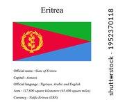 eritrea national flag  country...   Shutterstock .eps vector #1952370118
