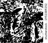 grunge background black and... | Shutterstock .eps vector #1952389252