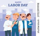 happy labor day design. labour...   Shutterstock .eps vector #1952399998