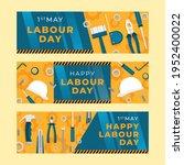 happy labor day banner...   Shutterstock .eps vector #1952400022