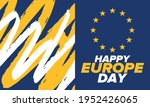 europe day. annual public... | Shutterstock .eps vector #1952426065