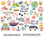 travel and adventure tourism ... | Shutterstock .eps vector #1952446255