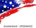 independence day background | Shutterstock .eps vector #195246422