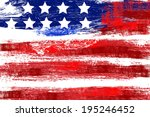 independence day background | Shutterstock .eps vector #195246452