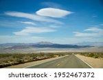 Asphalt Highway Road In The...