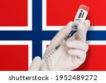 vaccination in norway. vaccine... | Shutterstock . vector #1952489272