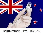 vaccination in new zealand.... | Shutterstock . vector #1952489278