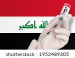 vaccination in iraq. vaccine to ... | Shutterstock . vector #1952489305