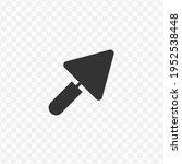 transparent little shovel icon...