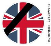 icon great britain flag. stock... | Shutterstock . vector #1952599948