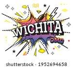 wichita comic text in pop art... | Shutterstock .eps vector #1952694658