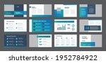 business presentation brochure... | Shutterstock .eps vector #1952784922