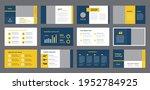 business presentation brochure... | Shutterstock .eps vector #1952784925