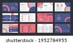business presentation brochure... | Shutterstock .eps vector #1952784955