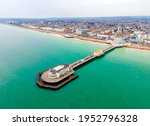 An Aerial View Of Worthing Pier ...