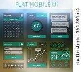 vector modern flat mobile web...