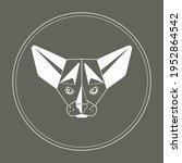 vector illustration of a sphinx ... | Shutterstock .eps vector #1952864542