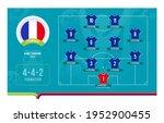 france line up football 2020...   Shutterstock .eps vector #1952900455