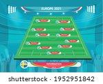soccer european championship... | Shutterstock .eps vector #1952951842