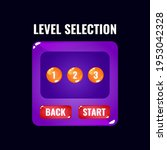 funny colorful jelly game ui...