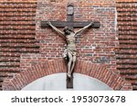 Cross With Crucifixion Of Jesus ...