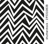 zig zag seamless pattern.... | Shutterstock .eps vector #195310838