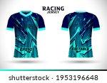 sports racing jersey design.... | Shutterstock .eps vector #1953196648