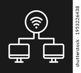 shared  signals  wifi icon... | Shutterstock .eps vector #1953226438