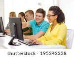 education  technology and... | Shutterstock . vector #195343328