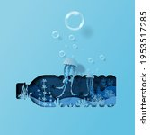 world oceans day concept ... | Shutterstock .eps vector #1953517285