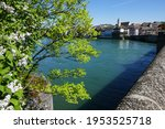 View Over The River Rhine And...