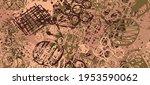 multi color grunge background... | Shutterstock .eps vector #1953590062