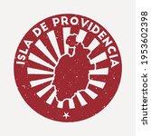 isla de providencia stamp.... | Shutterstock .eps vector #1953602398