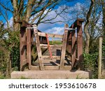A Concertina Gate Stile On A...