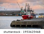 General Cargo Ship And Fishing...