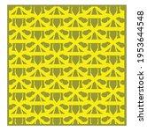 yellow geometric patterns....   Shutterstock .eps vector #1953644548
