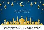 ramadan kareem the month of... | Shutterstock .eps vector #1953665965