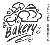 bakery graphics are combined... | Shutterstock .eps vector #1953674428