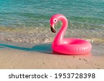 Summer Time. Pink Inflatable...