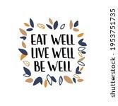 healthy nutrition inspirational ... | Shutterstock .eps vector #1953751735