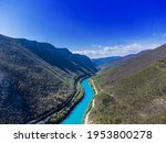 The Riverbed Of The Soca River...
