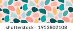 stone colorful pebble seamless...   Shutterstock .eps vector #1953802108