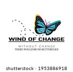 wind of change slogan text and... | Shutterstock .eps vector #1953886918