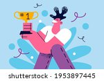 champion  winner  victory... | Shutterstock .eps vector #1953897445
