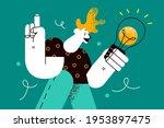 innovation  inspiration  new... | Shutterstock .eps vector #1953897475