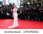cannes  france   may 24  uma... | Shutterstock . vector #195390002