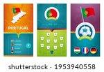 portugal team european 2020... | Shutterstock .eps vector #1953940558